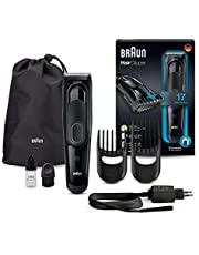 Braun Hair Clipper HC5050 – Ultimate hair clipping experience from Braun in 17 lengths