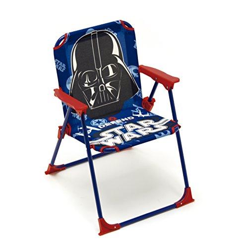 Klappstuhl Campingstuhl Gartenstuhl Kinder - Star Wars Faltstuhl Kinderstuhl Kinder Stuhl Garten Camping Angeln