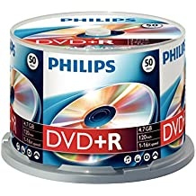 Philips - 50 x DVD+R - 4.7 Go 16x - spindle - support de stockage
