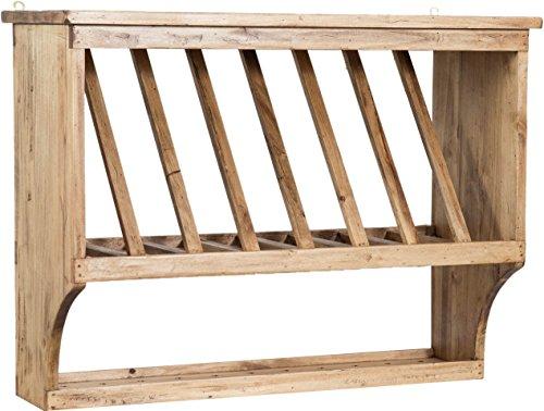 Piattaia Country in legno massello di tiglio finitura naturale ...