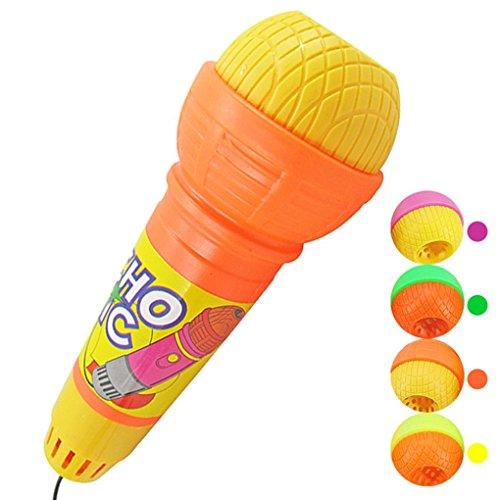 Omiky® Echo Mikrofon Mic Voice Changer Spielzeug Geschenk Geburtstagsgeschenk Kinder Party Song (Zufällige Farbe)