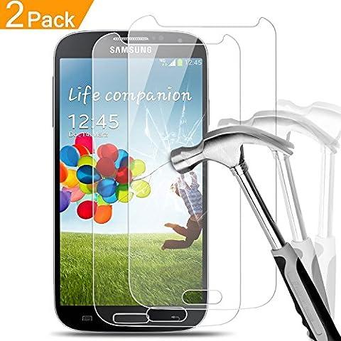 Film En Verre Trempe Samsung S4 - 2 x Samsung Galaxy S4 Film Protection
