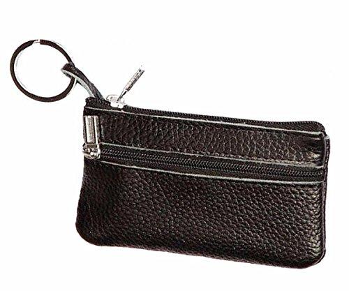 Geldbörsen, Rcool Frauen Leder wichtigen Fall Brieftasche Kupplung Münze Wallet Card Tasche (Schwarz) (Schwarz Prada Wallet)