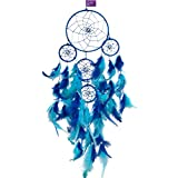 #4: AsianHobbyCrafts Dream Catcher Wall Hanging : Size (LxB) 55x15 cm : 'Mirage'