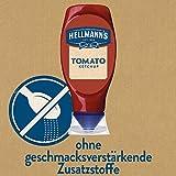 Hellmann's Tomato Ketchup, fruchtig tomatiger Geschmack, 2er Pack (2 x 430ml)