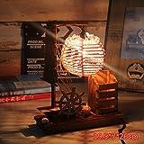Best Romantique bureau Temps Lampes - WXBW Lampe de Table-La tête du créatif en Review