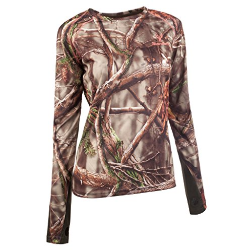HUNTWORTH Damen Leicht Long Sleeve Shirt, damen, Oak Tree Evo Camouflage