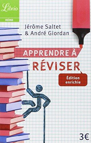 Apprendre à réviser par Jérôme Saltet