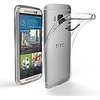 HTC One M9 / HTC One S9 5.0'' Hülle Case, EasyAcc Dünn Crystal Clear Transparent Handyhülle Cover Soft Premium-TPU Durchsichtige Schutzhülle Backcover Slimcase für HTC One M9 / HTC One S9