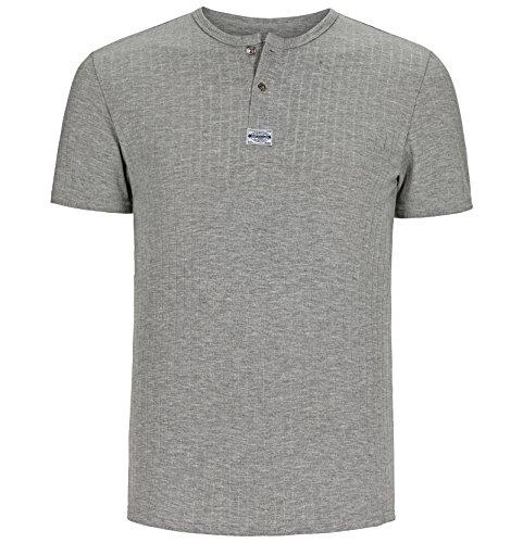 JAN VANDERSTORM Herren T-Shirt LINDRAD in Übergröße bis 6XL - NEU - Grau
