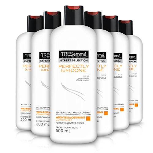 TRESemmé Perfectly Undone Weightless Silicone-Free Conditioner 500 ml – Pack of 6