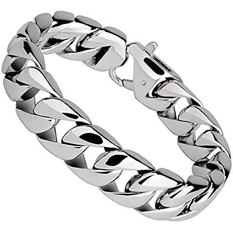 ZWX Prepotente moda uomo d'acciaio bracciale in titanio/ Gioielli personalizzati braccialetto in Europa e America-B