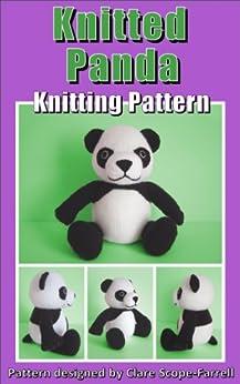 Knitted Panda Knitting Pattern by [Scope-Farrell, Clare]