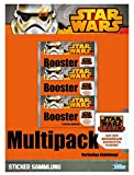 Topps TO01045-DE - Sammelkartenspiel - Star Wars Rebel Attax Multipack, 5 Booster, Deutsch