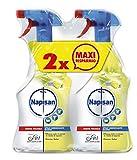 Napisan Spray Igienizzante Bagno, Limone e Menta - Confezione da 2 x 750 ml