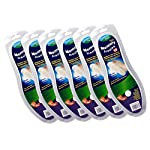 Comfort Pedic 6x Pairs of Memory Foam Shoe Boot Insoles - Cut to size