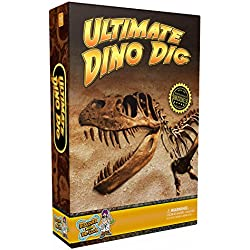 Discover with Dr. Cool Ultimate Dinosaur Science Kit- Dig Up Dino Fossils and Assemble a T-Rex Skeleton!