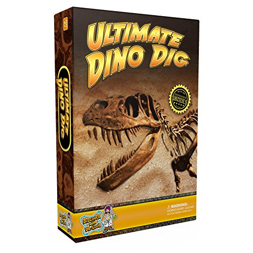 Discover with Dr. Cool Das ultimative Dino-Grabungsset - 3 echte Dino-Fossilien und T-Rex-Skelett!