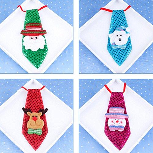 Laat corbata de navidad corbatas para ni os santa claus - Decoracion de navidad para ninos ...