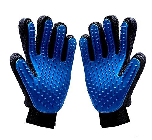 SunPet4u Haustierpflege Handschuhe für Hunde Katzen und