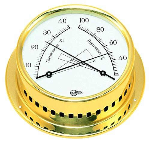 Barigo Termometro/Igrometro Regatta Ottone