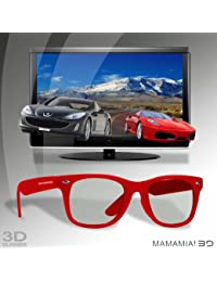 Lunettes 3D « Mamamia » Red
