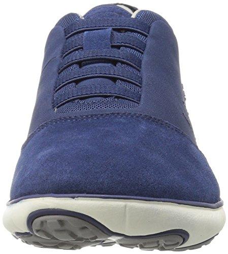 Geox U Nebula B, Baskets Basses Homme Bleu (Dk Royalc4072)