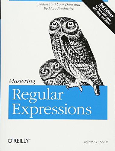 Mastering Regular Expressions por Jeffrey E.F. Friedl