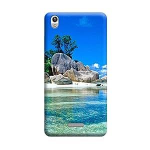 CaseLite Premium Printed Mobile Back Case Cover With Full protection For Lava Pixel V1 (Designer Case)