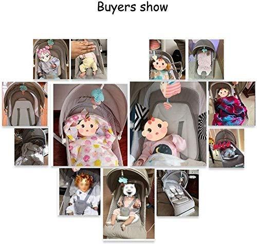 Imagen para HWZQHJY Silla eléctrica Multifuncional bebé Mecedora, Doblado Gorila bebé, Baby Swing, Soporte económico, for niños Menores de 3 años