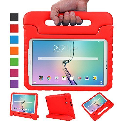 Samsung-Galaxy-Tab-E-96-Inch-SM-T560SM-T561-FundaNEWSTYLE-EVA-Kids-Shock-Proof-Convertible-Handle-Light-Weight-Protective-Stand-Cover-Case-for-Samsung-Galaxy-Tab-E-Tab-E-Nook-96-Inch-2015-Tablet-Fit-B