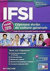 IFSI L'épreuve écrite de culture générale - Concours 2015 - Nº19