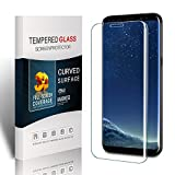 Soyion Galaxy S8 Plus Screen Protector,Galaxy S8+ Screen Protector,9H Full Screen Coverage Tempered Glass Screen Protector for Samsung Galaxy S8 Plus