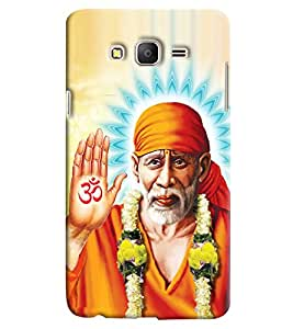 Clarks Sai Baba Hard Plastic Printed Back Cover/Case For Samsung Galaxy On 5