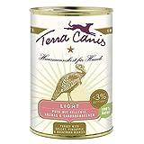 Terra Canis Pute light | 12x 400 g kalorienreduziertes Nassfutter