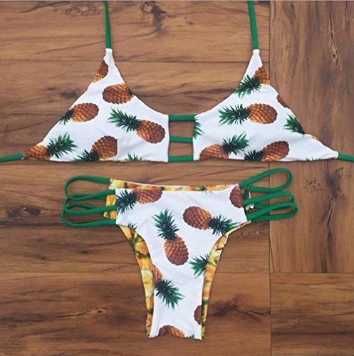 BUSL Frau Split Badeanzug Mode Bikini Strand a