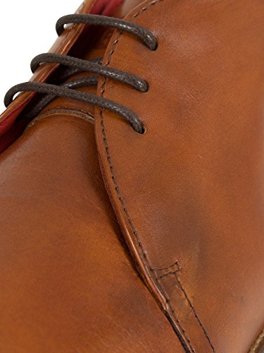 Base London Herren Devon Stiefel, Braun Braun
