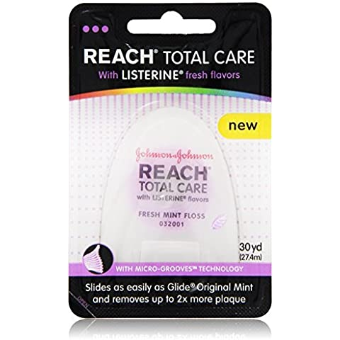 Reach Total Care floss with Listerine Fresh Flavors 30-Yard by Reach