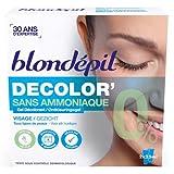 Blondepil Gel Décolorant sans Ammoniaque pour Visage 2 X 25 ml