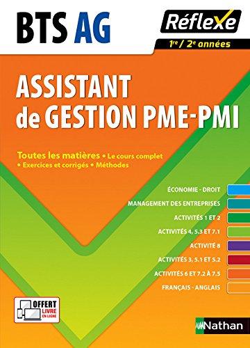 Toutes les matières Assistant de gestion PME-PMI - BTS AG pme-pmi par Pascal Besson