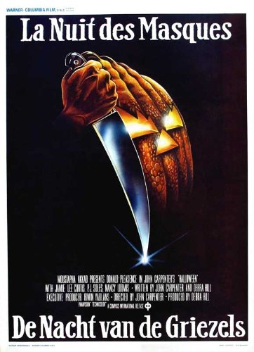 ie Poster (11 x 17 Inches - 28cm x 44cm) (1978) Belgian (Halloween Nancy Loomis)