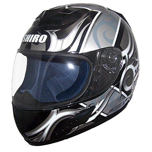 Shiro SH996 Symbol II Gr. XL Weiss-schwarz-silber