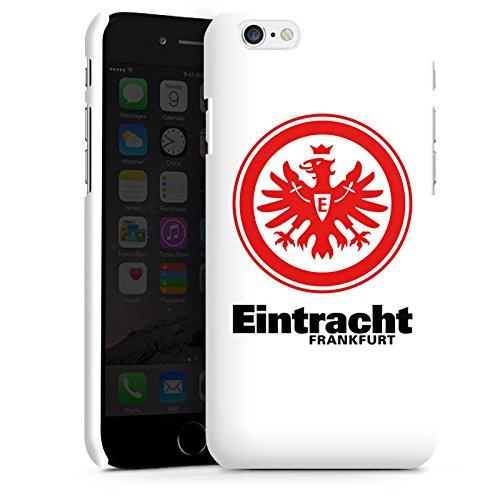 Apple iPhone SE Tasche Hülle Flip Case Eintracht Frankfurt Fanartikel Fußball Premium Case matt