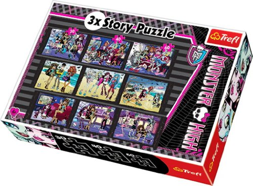 Trefl Story Puzzle Monster High