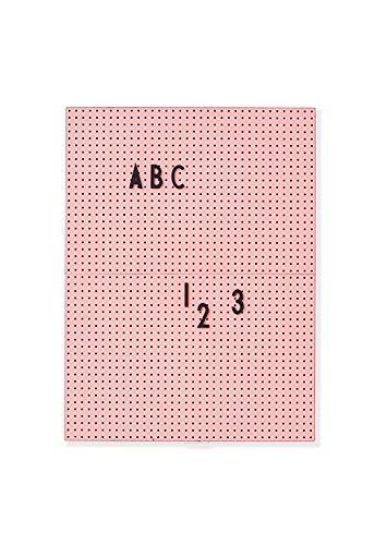 Design Letters - Message Board - Memo Board A4 - rosa/pink - Kunststoff