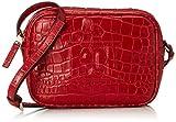 Escada Sport Damen Ab723 Umhängetasche, Rot (Acrylic Red), 6x13,5x18,5 cm