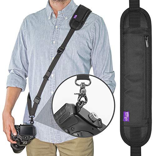 Altura Photo Rapid Fire Kamera-Umhängeband mit Schnellverschluss und Sicherheitsgurt Rebel Xti Dslr-kamera