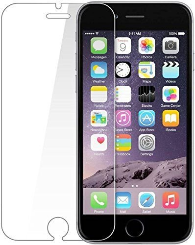 Ubon I Phone 6 Plus Hammer-Proof Glass Armour Guard, Unbreakable, Unscretchable Display protection,with Free one time screen cleaning kit (Easy self installation in one minute)USB LED Light Free
