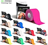 Kinesiology Tape - KG | PHYSIO - Uncut Muscle Support Tape - 5cm x 5m roll - 11 colours available! Images are exact photos of our products for accurate colour representation