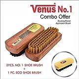 Venus No.1 Shoe Polish Brush (Set of 2) - Best Reviews Guide